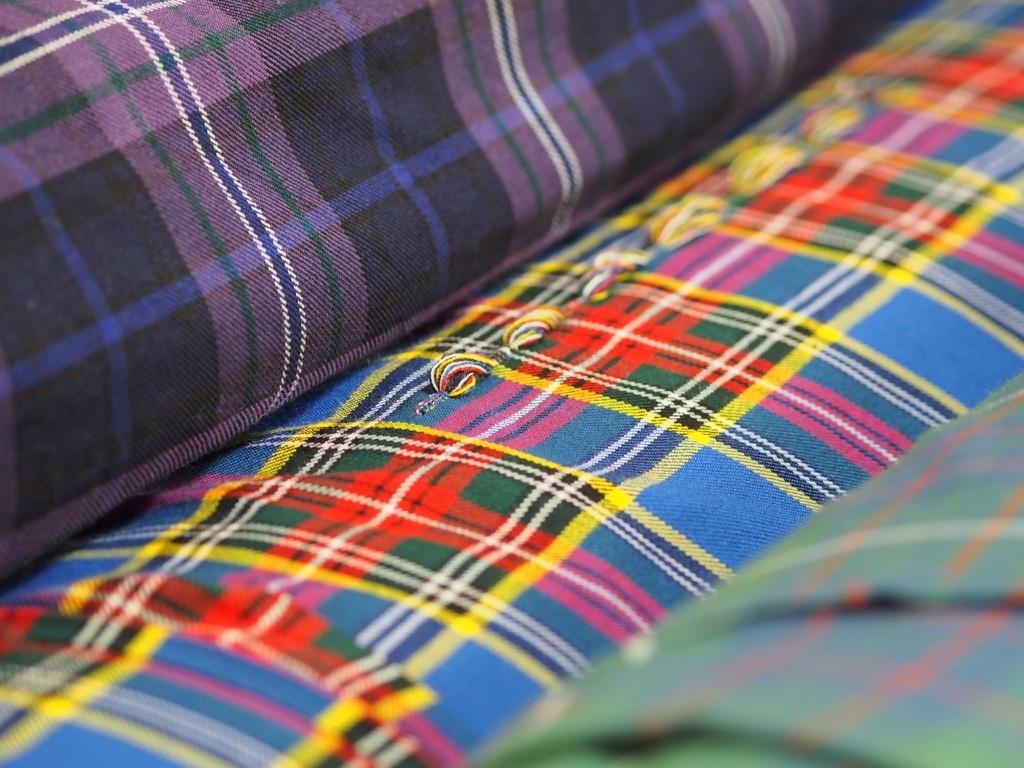10oz Wool Tartan Fabric