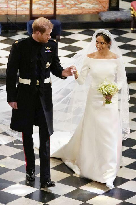 Megan Markle Givenchy Wedding Dress