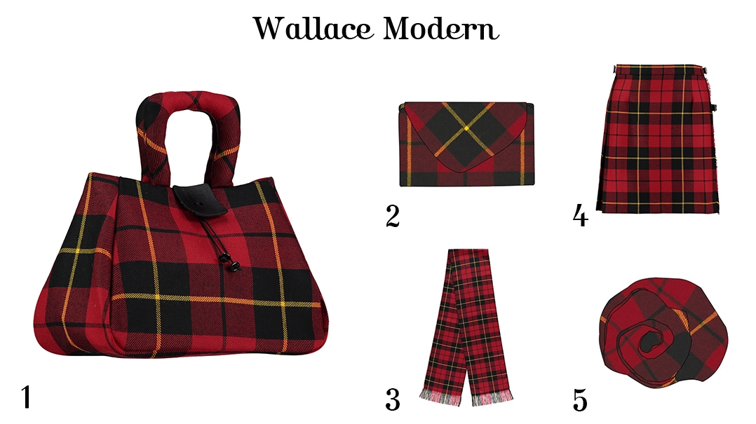 What to wear for Burns Night - For Her - Wallace Modern