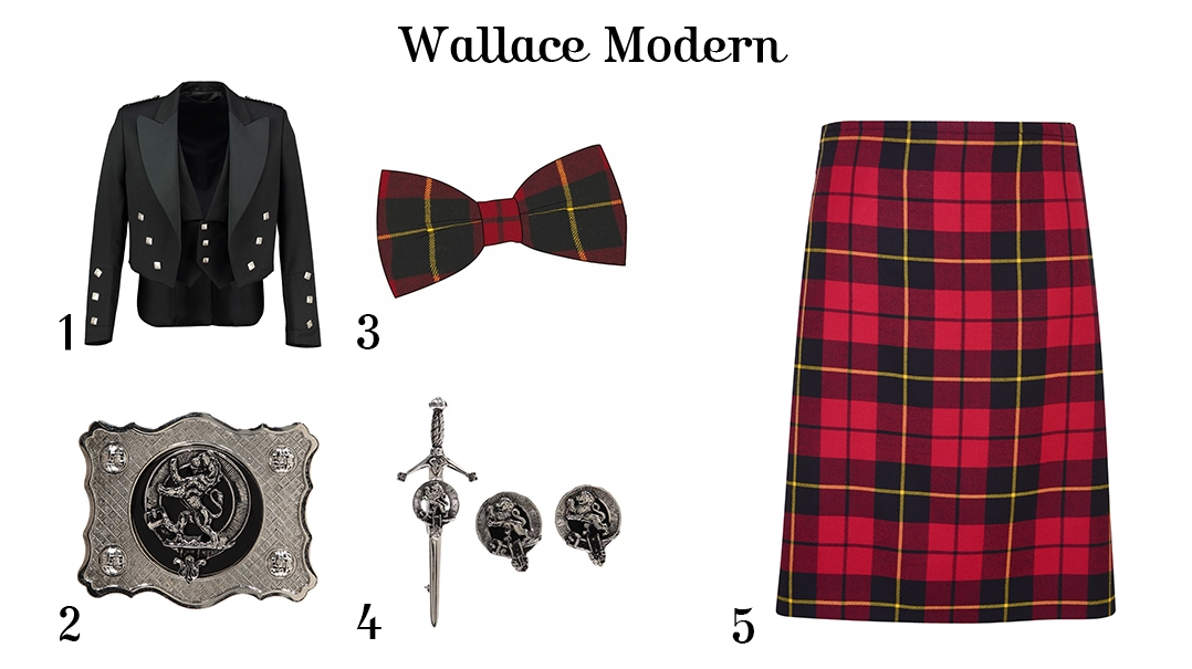 What to wear for Burns Night - For Him - Wallace Modern