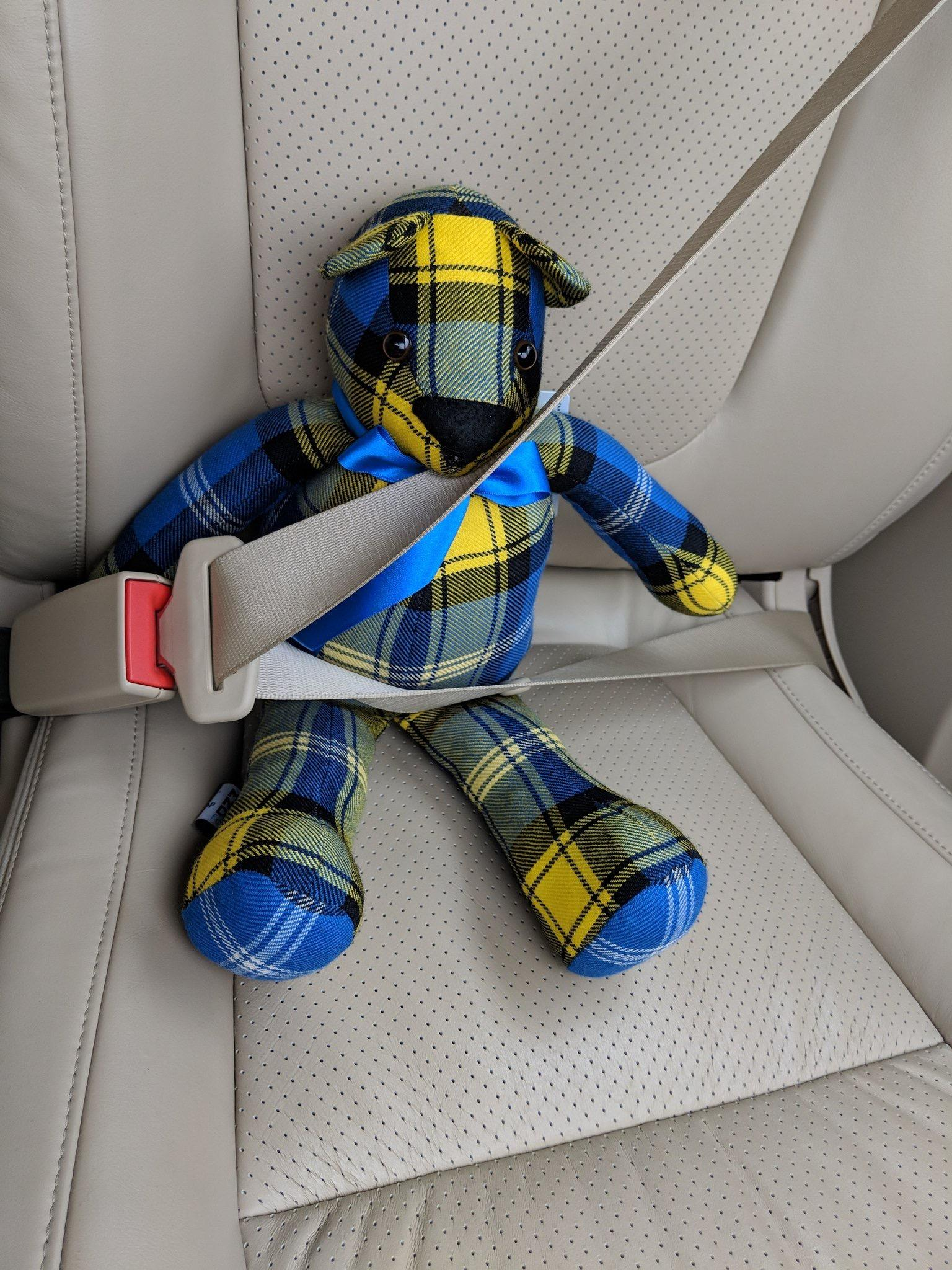 Doddie'5 Tartan Ted travels from Carlisle to Penrith