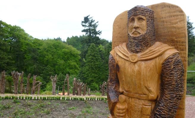 Castleband Park Wallace Monument
