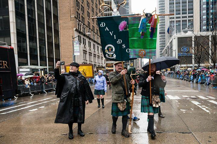 Clan Davidson - New York City Tartan Week