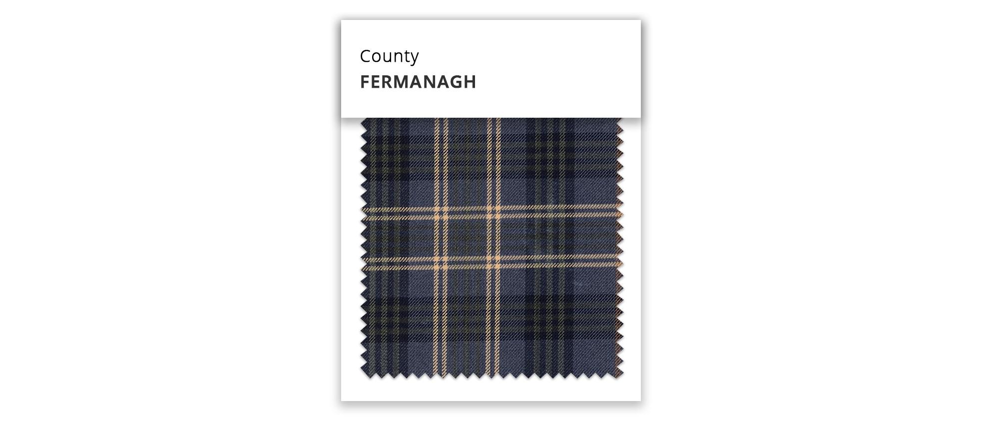 Fermanagh Irish County Table Runner