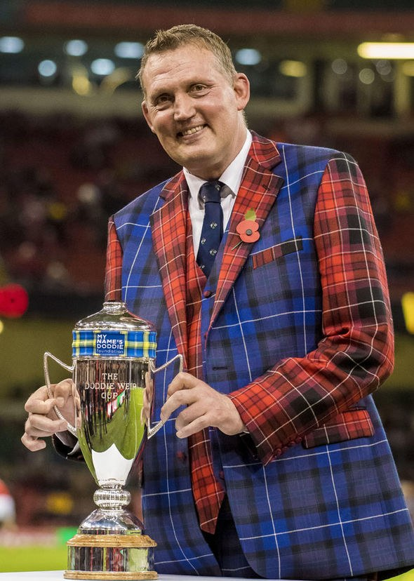 The Doddie Weir Cup - Welsh & Scottish Tartan Suit