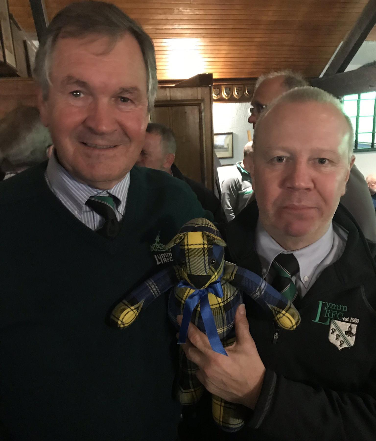 Doddie'5 Tartan Ted - Lymm RFC