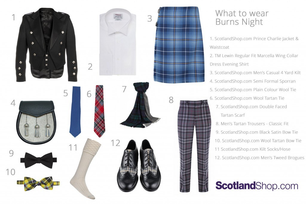 What to Wear - Burns Night