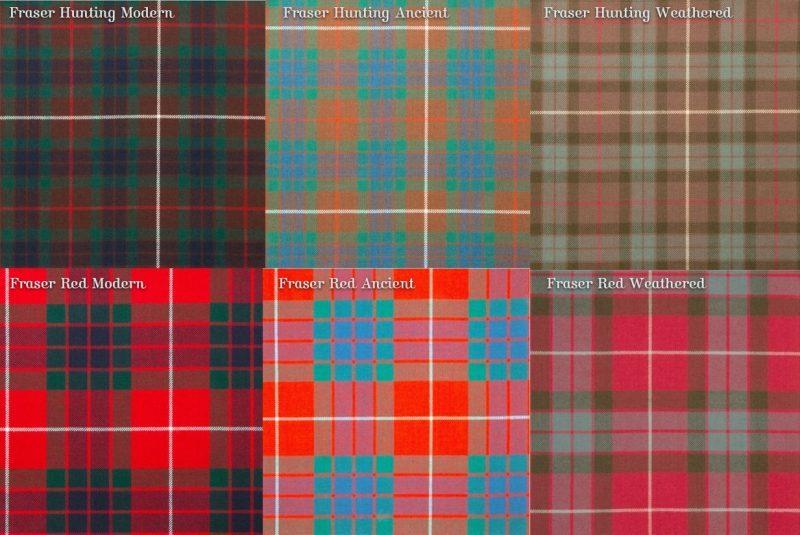 Fraser Clan Tartans