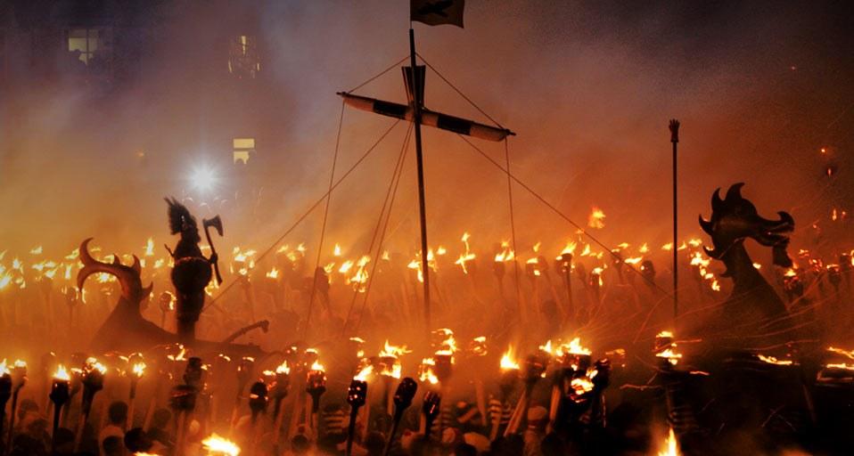 Hogmanay Vikings