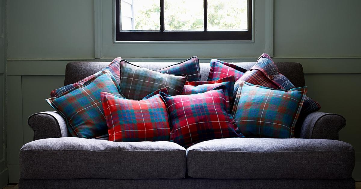 How To Make A Tartan Cushion Scotlandshop