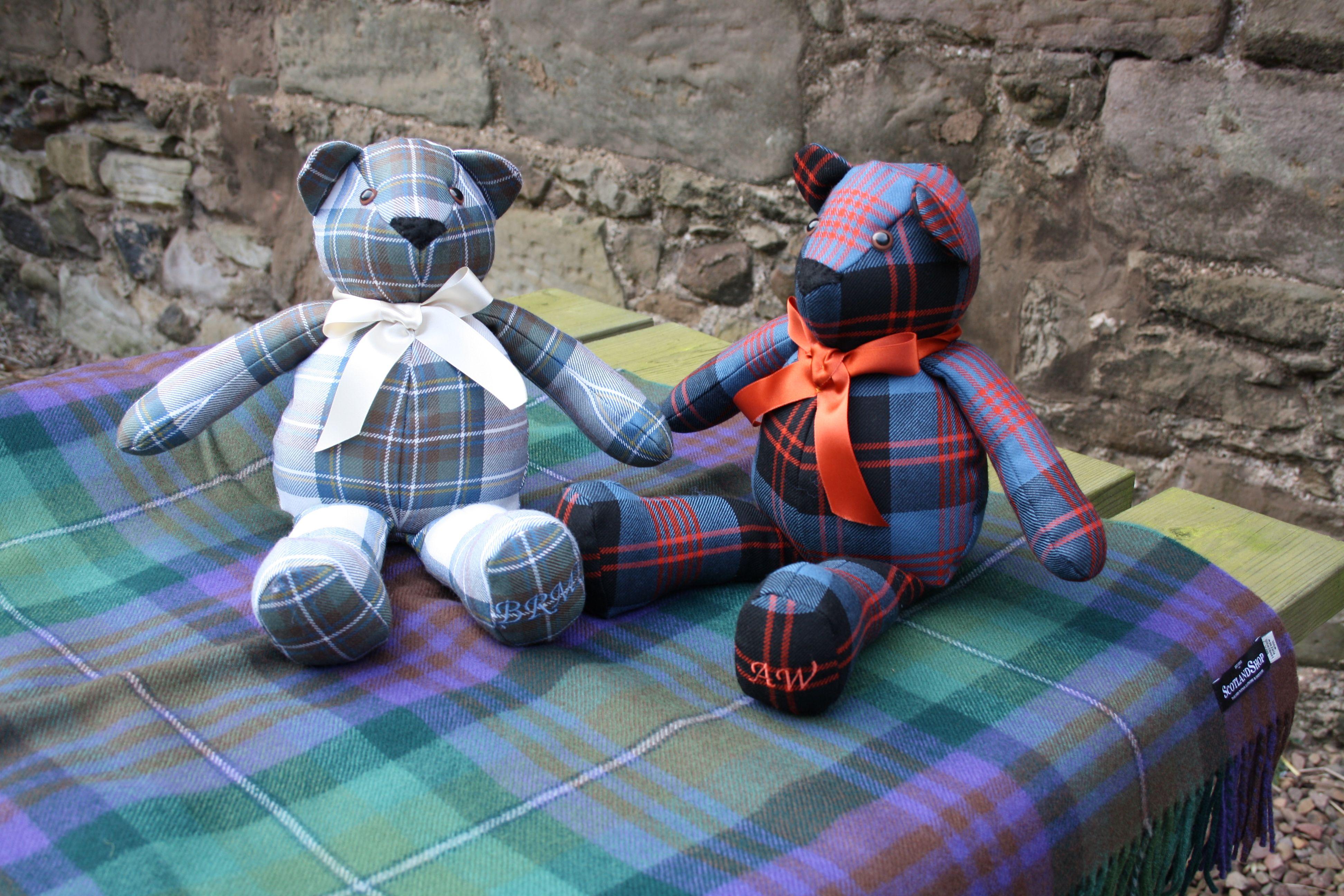 Tartan Teddy Picnic