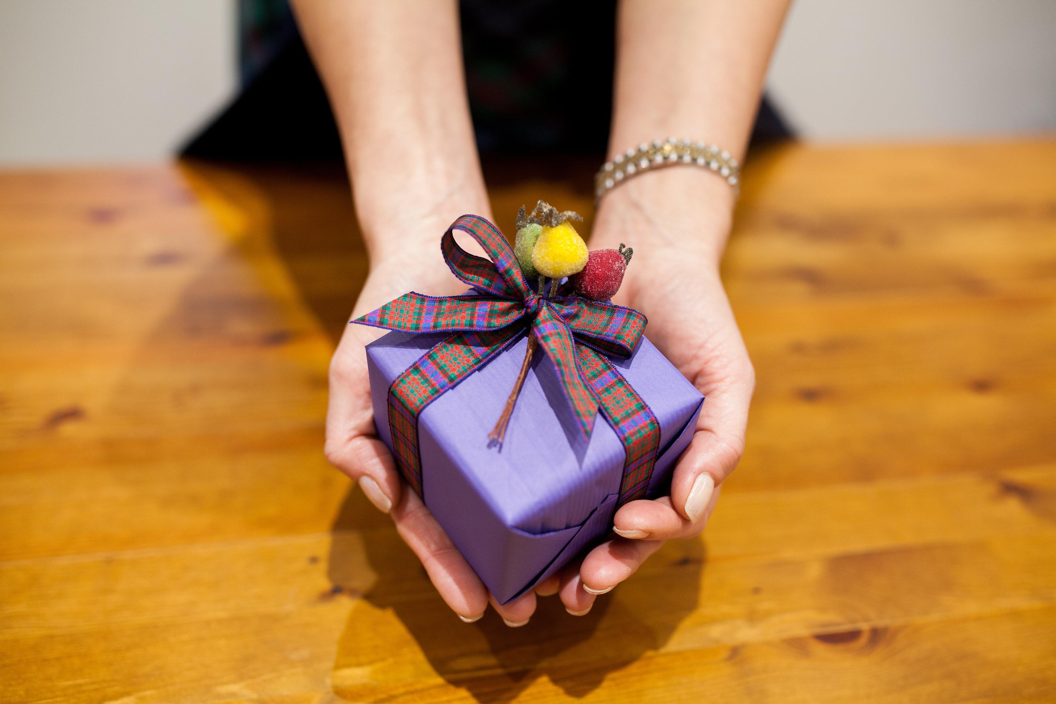Jane Means Tartan Inspired Gift Wrap