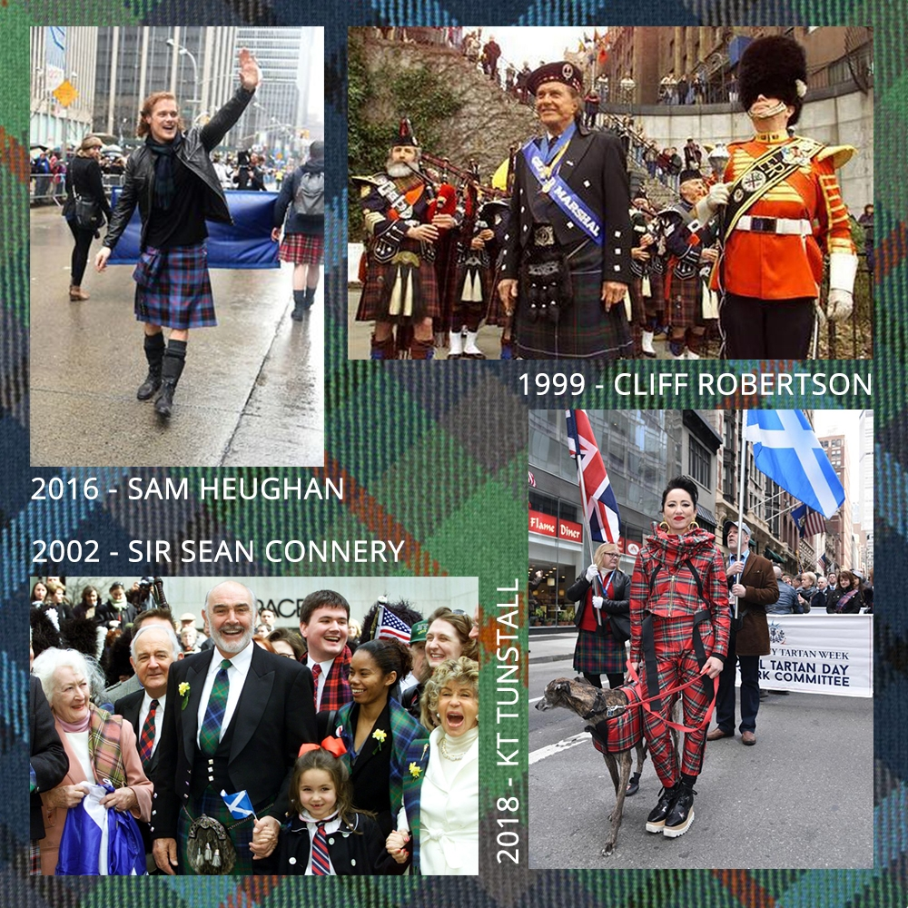 New York City Tartan Day Parade Grand Marshals