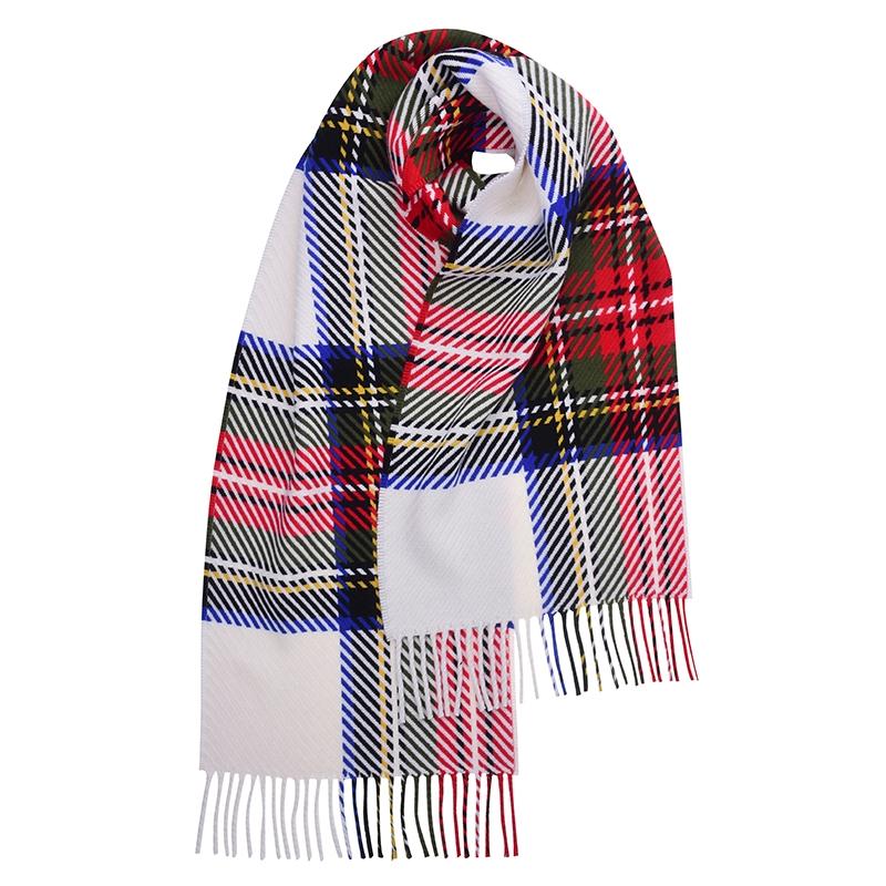 Stewart Dress Modern - Oversized Check Scarf