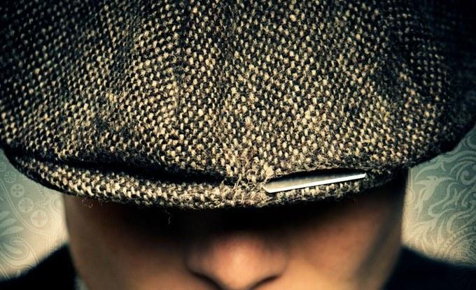 Image result for peaky blinders razor hat