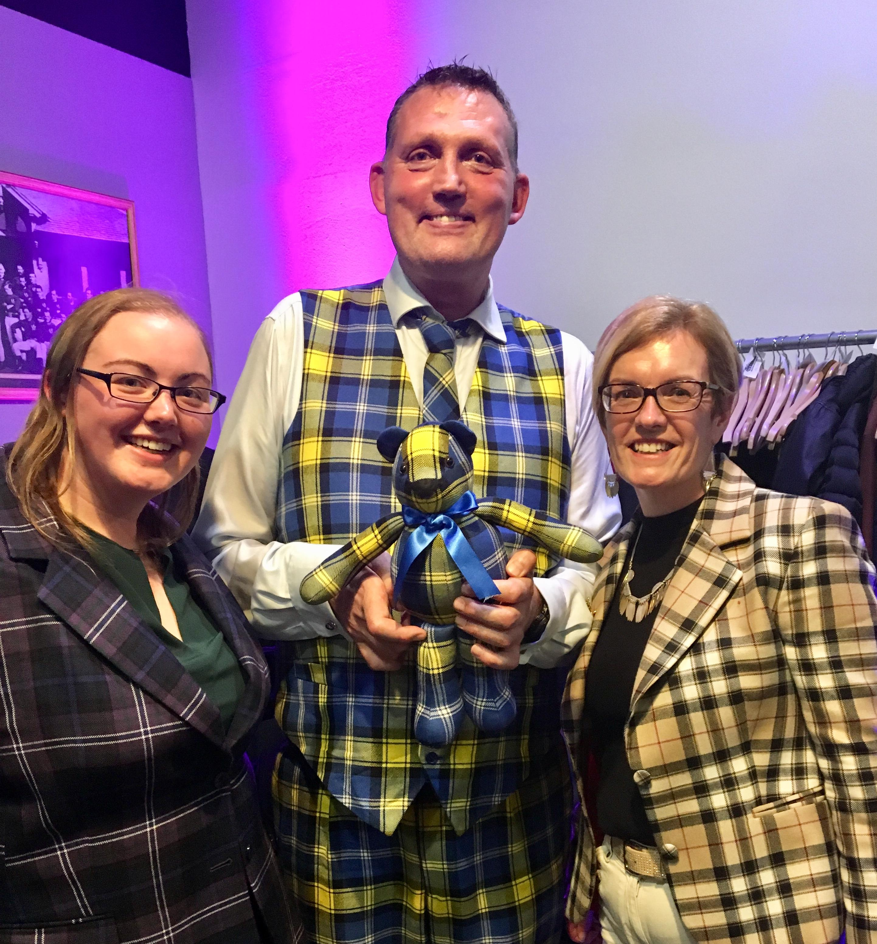 Doddie'5 Tartan Ted - Doddie'5 Book Launch