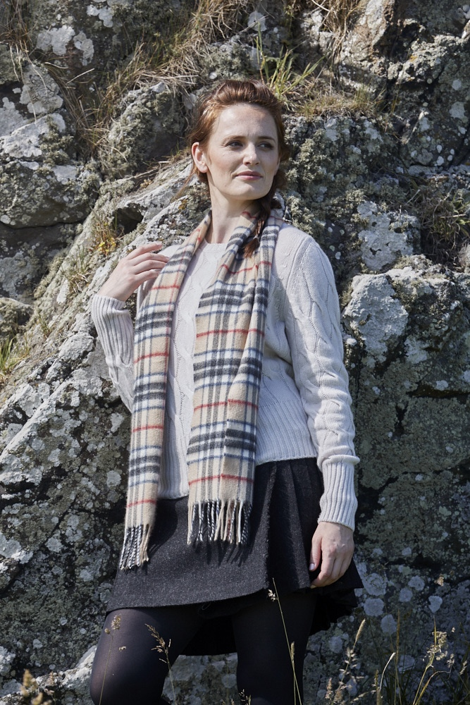 Scottish Scarf Style Edit: Classic Tartan Cashmere