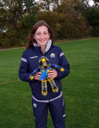 Liana Mitchell, The Fife Clan Community Coach & Howe Halequins player.