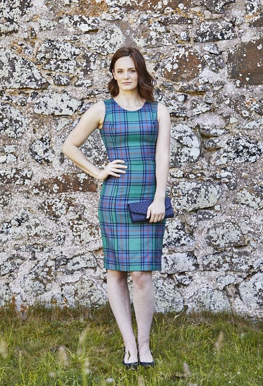 Shaw Ancient Sleeveless Shift Dress