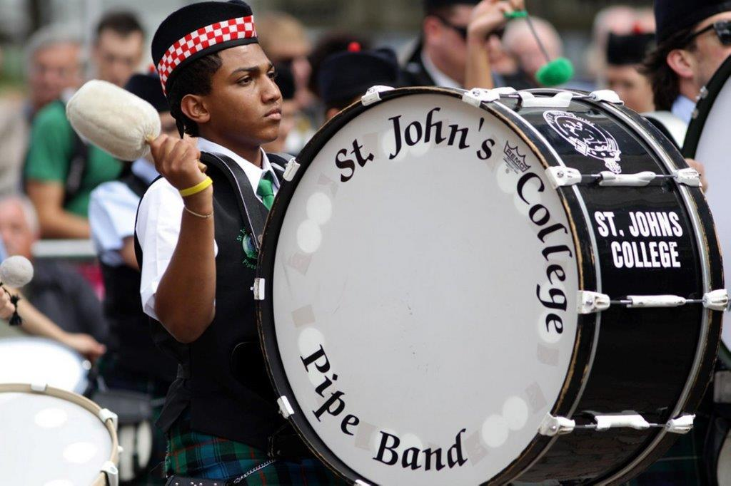 St John's College Pipe Band