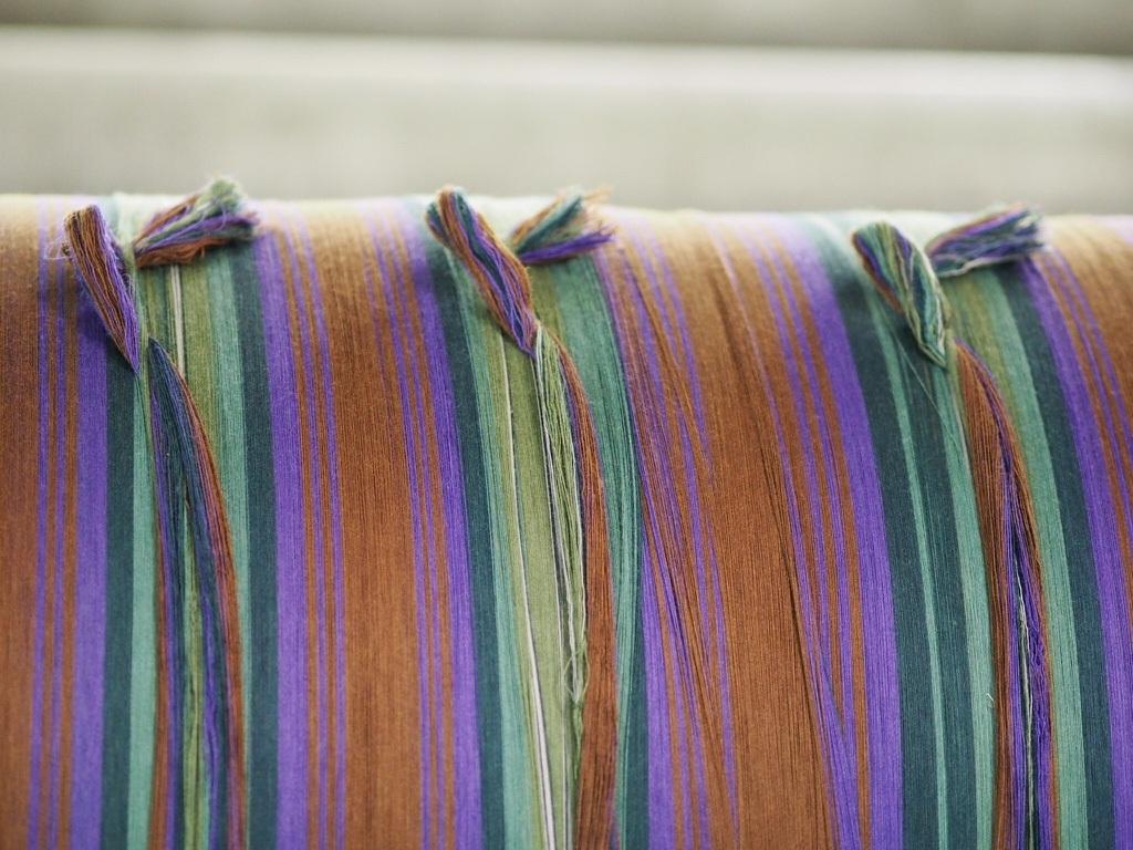 Tartan Fabric Weaving