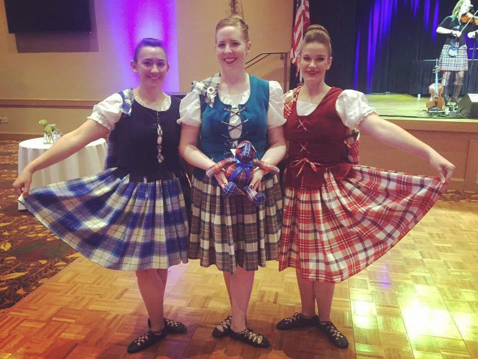 Tartan Ted USA - Tartan Hearts Highland Dance