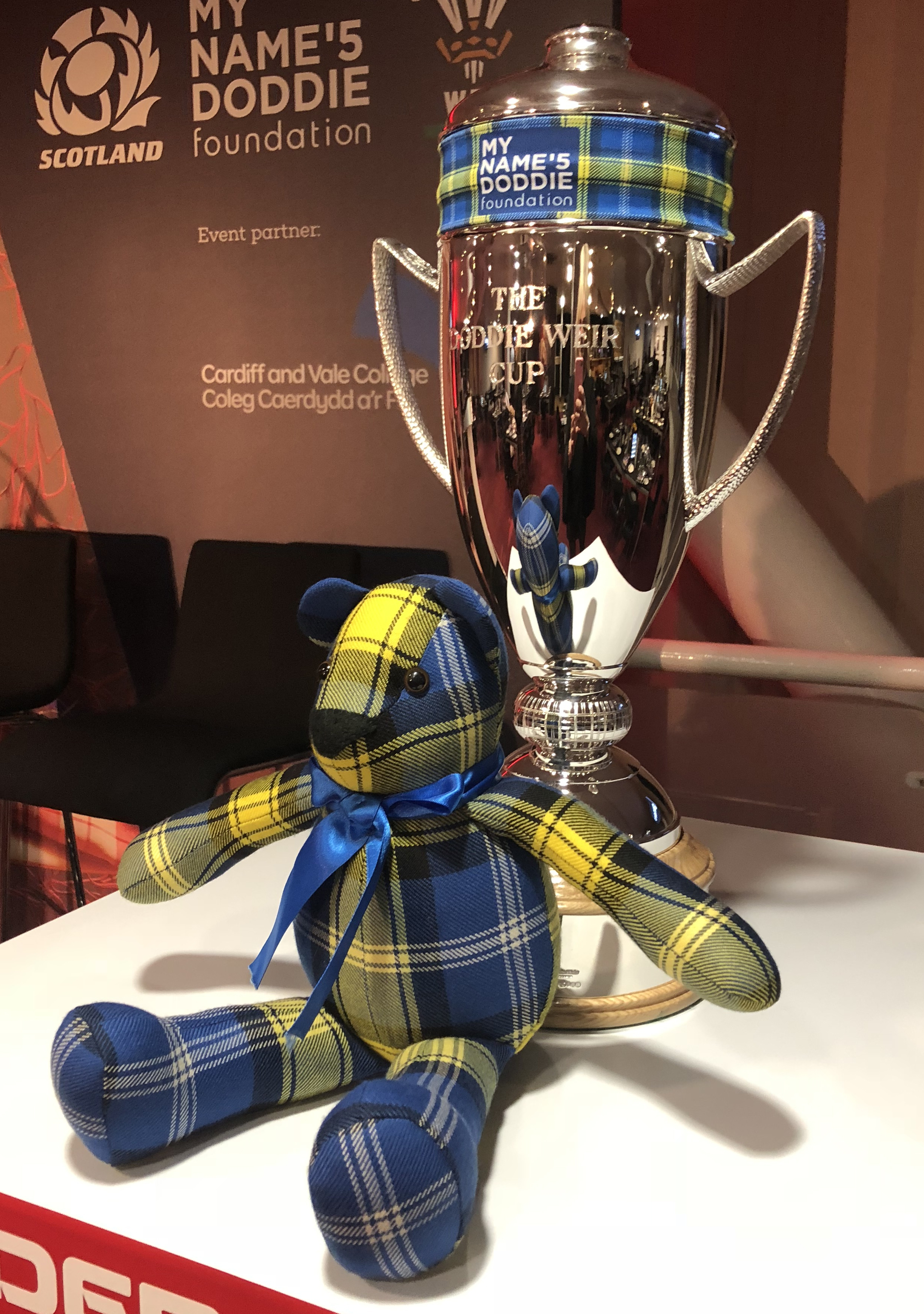 Doddie'5 5 Tartan Ted - Doddie Weir Cup