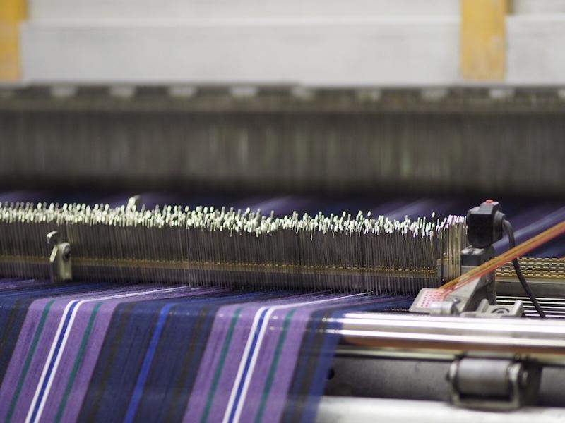 Tartan Fabric - Weaving