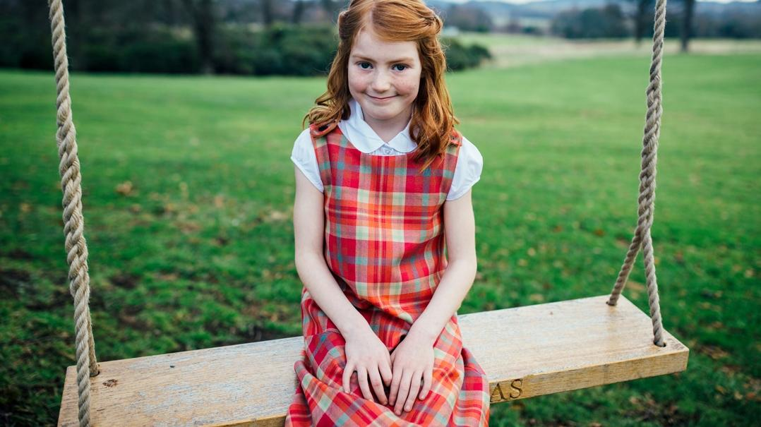 Girls Clothing for Scottish Weddings