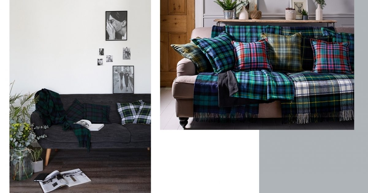 How To Style A Tartan Throw Blanket