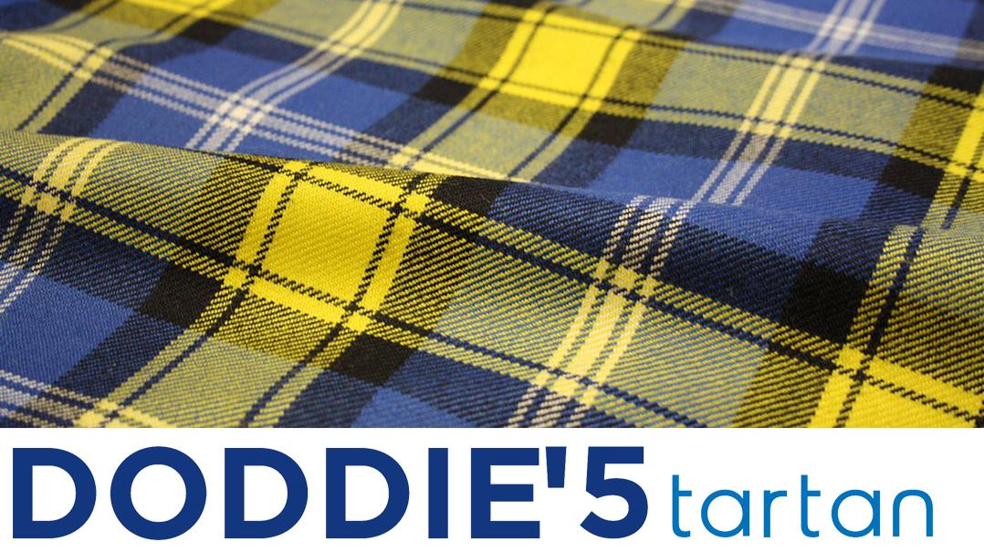 Doddie5 Tartan Logo Update