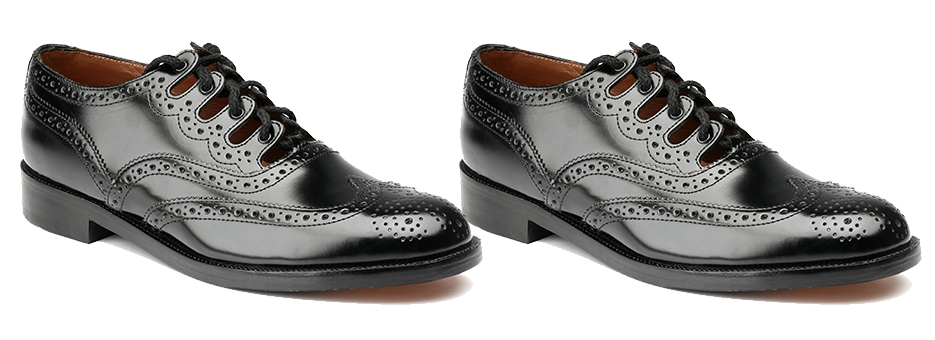 Mens Ghillie Brogues