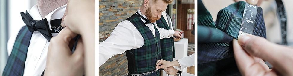 ScotlandShop New York City Tartan Week Pop Up Store & Measuring Service