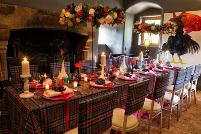 Tartan Wedding Tableware Update