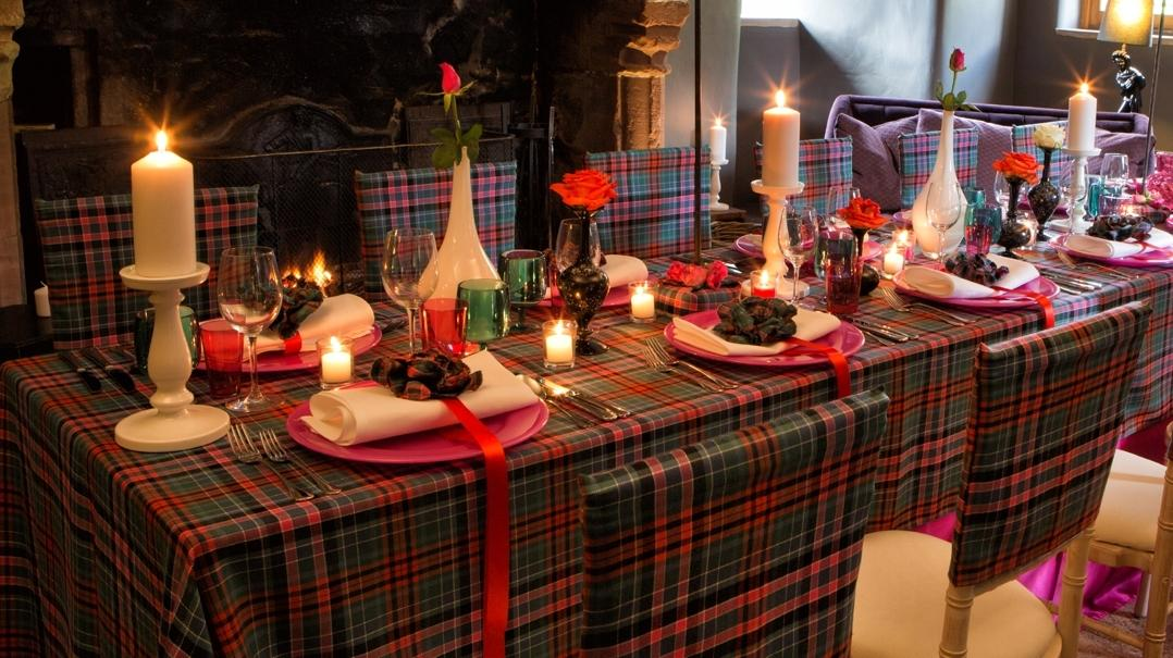 The Burns Night Table