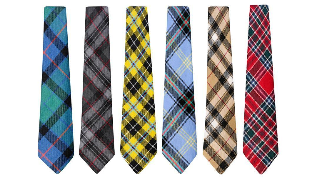 Plaid Neck Ties