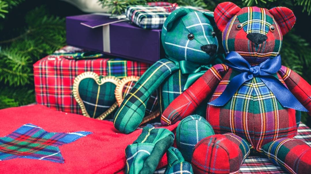 Christmas Gifts for Children from Scotland