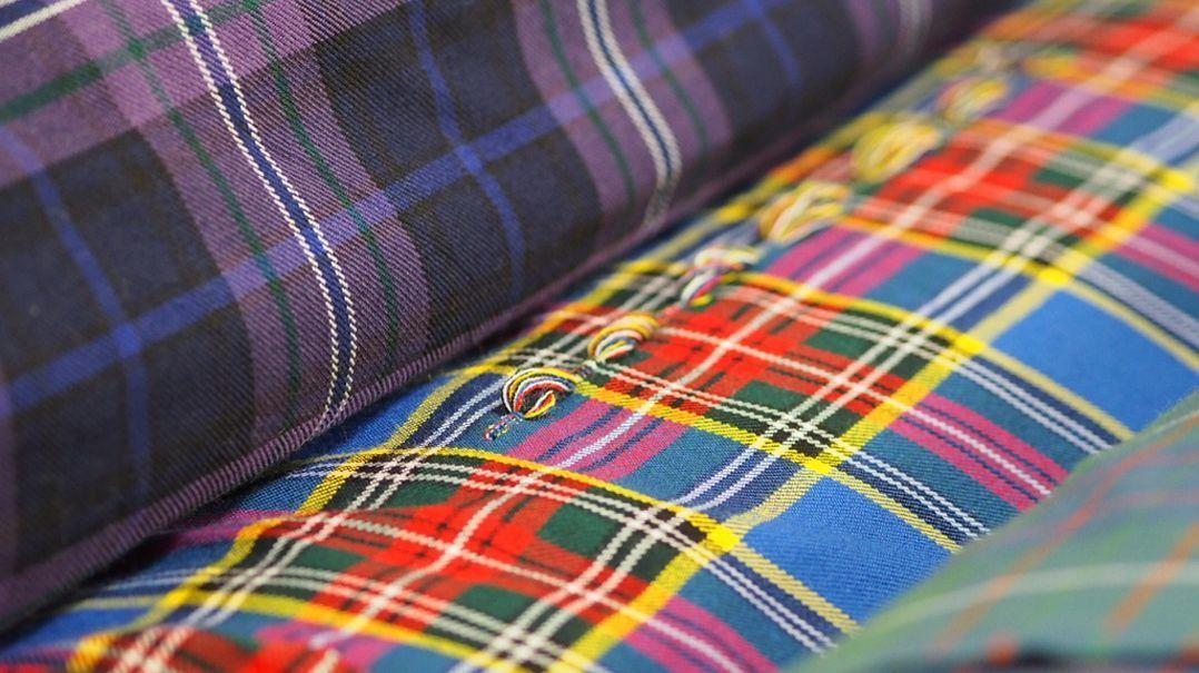 Tartan Fabrics by the Metre