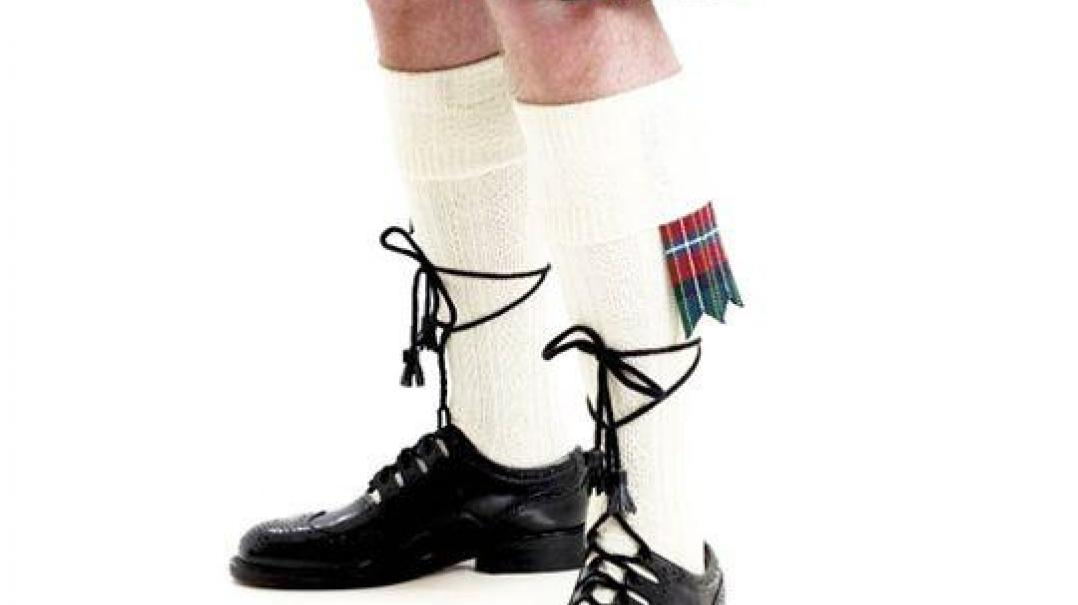 Wedding Kilt Socks, Ghillie Brogues and Flashes
