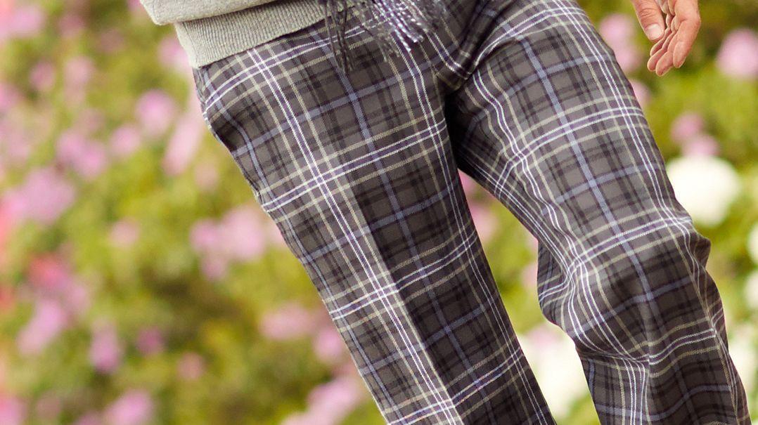 Schottenstoffhose für Herren