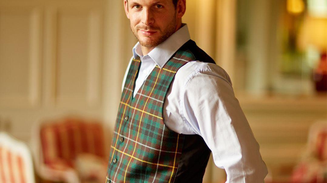 Men's Tartan Waistcoats