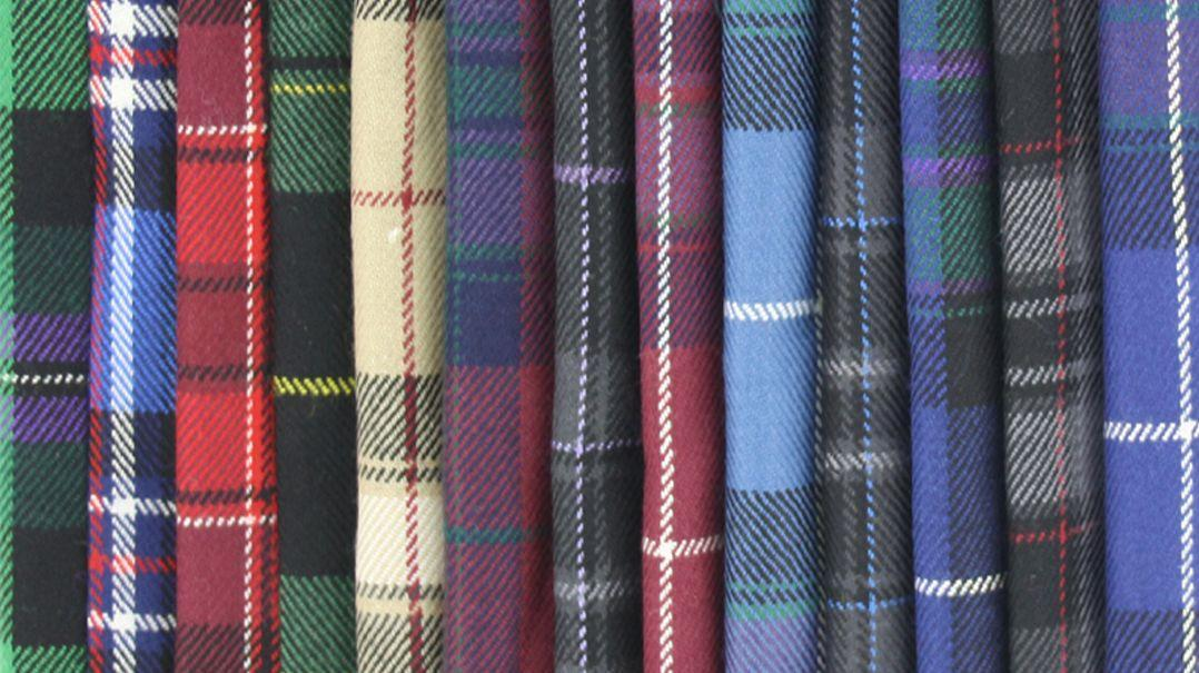 La collection tartan Pride of Scotland