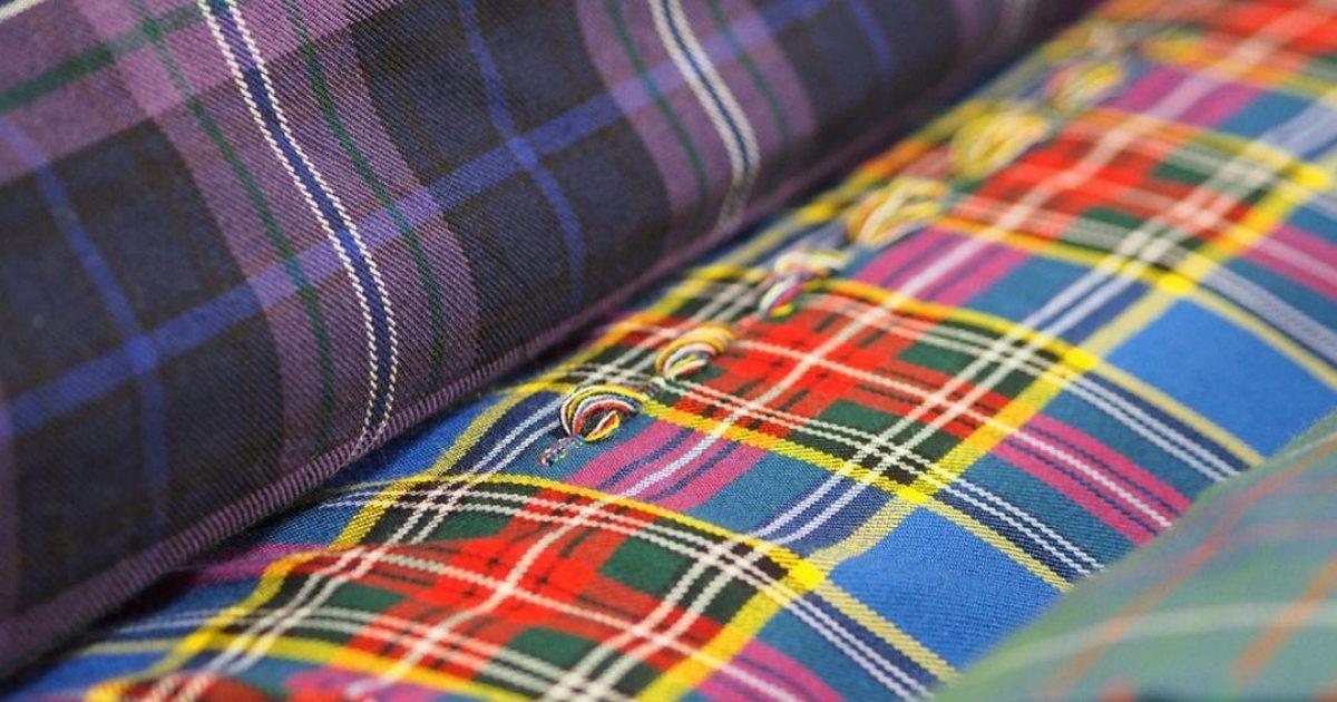 Tartan Fabrics by the Metre | Made in Scotland | ScotlandShop