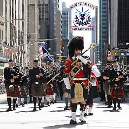 New York City Tartan Week - Tartan Day Parade