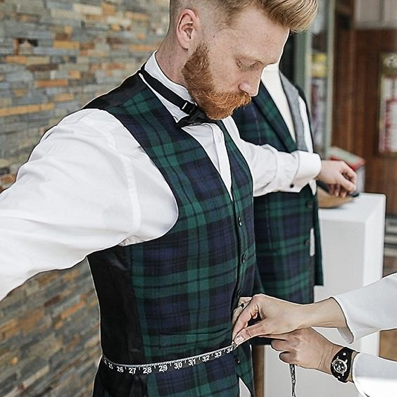 New York City Tartan Week - Pop Up Store & Measuring Service