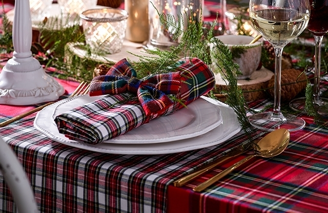 Tartan tablelinen for every occasion