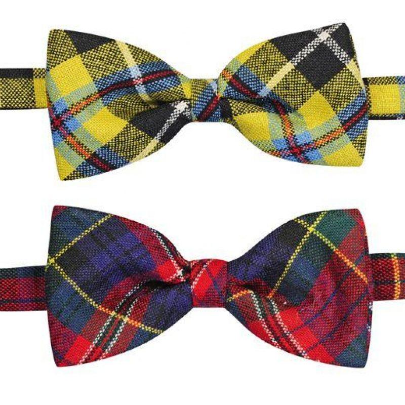 cf70e72f4678 Scottish Tartan Bow Ties & Self Tie Bow Ties | Made in… | ScotlandShop