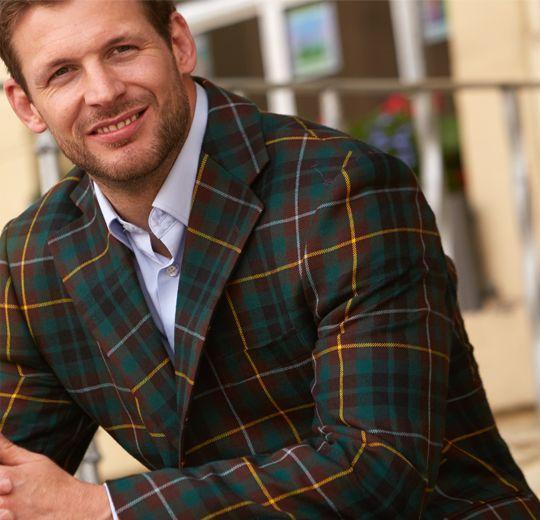Jacken mit Schottenmuster