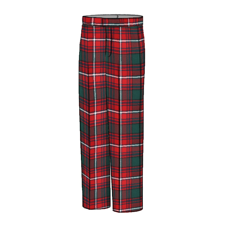 Men's Tartan Trousers - Classic FitMade To Order