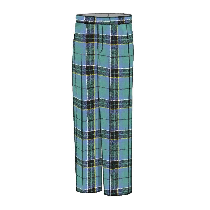 Pantalons ecossais coupe classiqueMade To Order